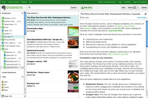 Evernote web new8