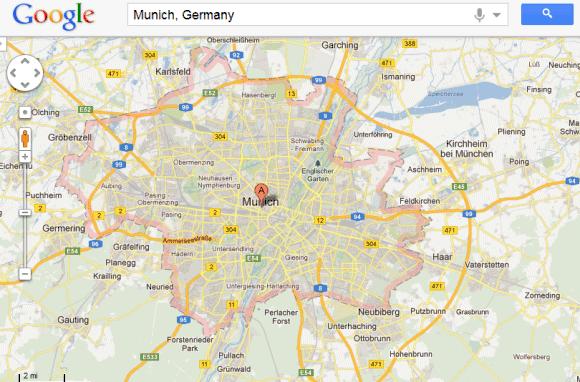 Google maps highlight 2