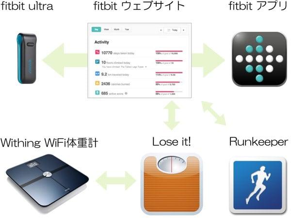 Fitbit diagram