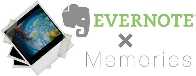 Evernote memories