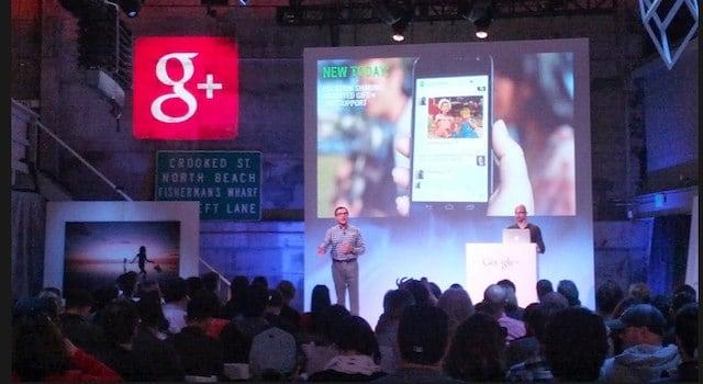 Googleplus event