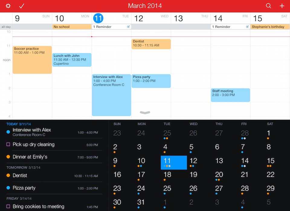 Screenshot 2 weekview